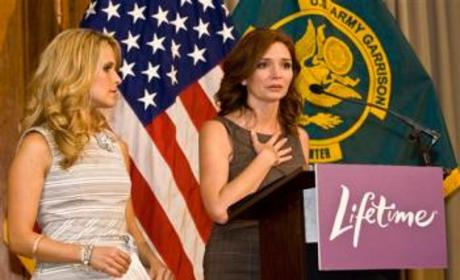 Army Wives Stars Meet Real-Life Counterparts