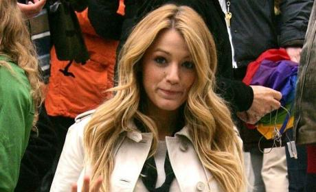 Blake Lively Lights Up New York