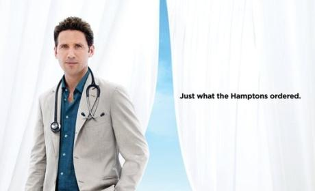 Royal Pains Poster: Just What the Hamptons Ordered