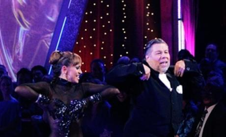Steve Wozniak and Karina Smirnoff Photo