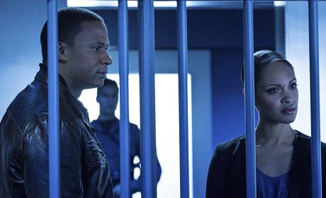 At the Cage - Arrow Season 4 Episode 11