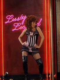 Lily as a Stripper