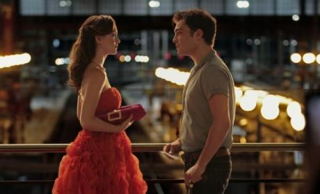 Blair and Chuck in Paris