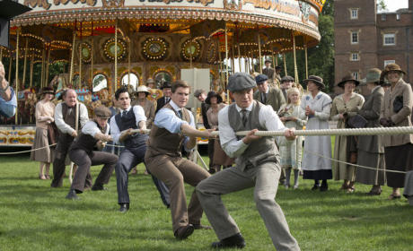 Downton Abbey Tug of War