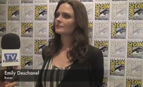Emily Deschanel Comic-Con Interview 2012