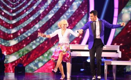 Betsey Johnson and Tony Dovolani Dance the Jive - Dancing With the Stars Season 19 Episode 6