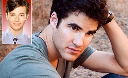 "Darren Criss Says Glee Character Will Serve as ""Mentor"" to Kurt"