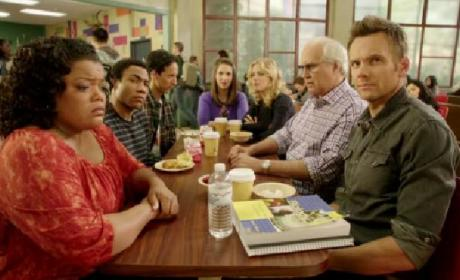 Community Return Promo, Red Carpet Scoop: Everything. Will. Chang.