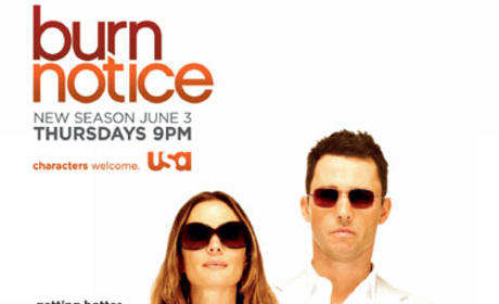 Burn Notice Season Four Poster, Promo