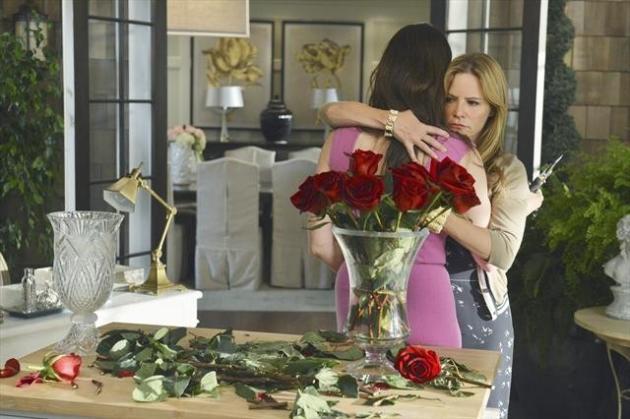 Kara and Victoria Hug