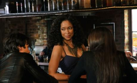 The Vampire Diaries First Look: Gina Torres as Bree