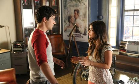 Arguing her Case - Pretty Little Liars Season 5 Episode 10