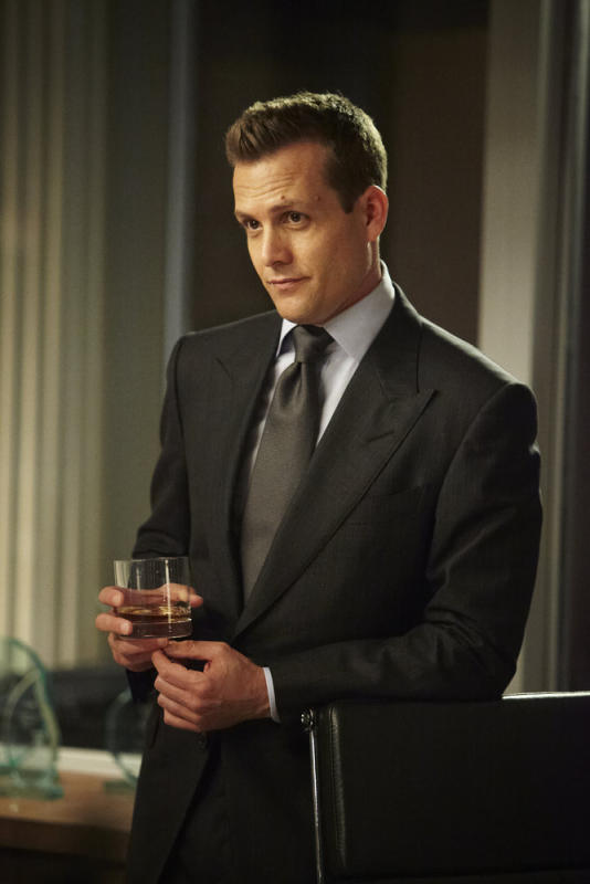 Harvey with a Drink