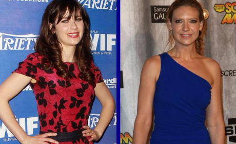Tournament of TV Fanatic Quarterfinals: Zooey Deschanel vs. Anna Torv!