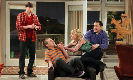 Two and a Half Men Review: BAZINGA!