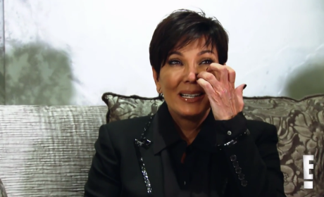 Crying Kris Jenner - Keeping Up with the Kardashians