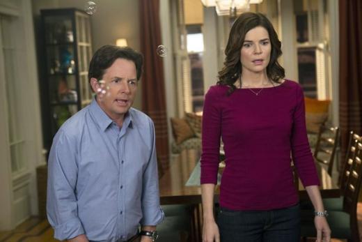 Michael J Fox & Betsy Brandt
