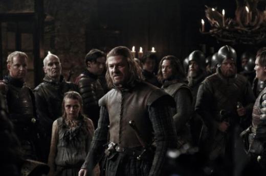Arya and Ned
