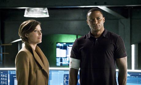 Mr. and Mrs. Diggle - Arrow Season 4 Episode 11