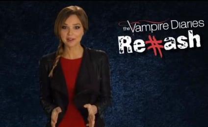 Arielle Kebbel Rehashes a Vampire Diaries Christmas