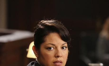 Callie Looks Worried