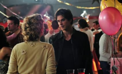 "Going Retro: The Vampire Diaries Photos from ""Unpleasantville"""