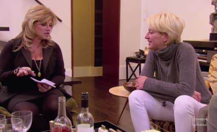 Watch The Real Housewives of New York City Online: Tipsying Point