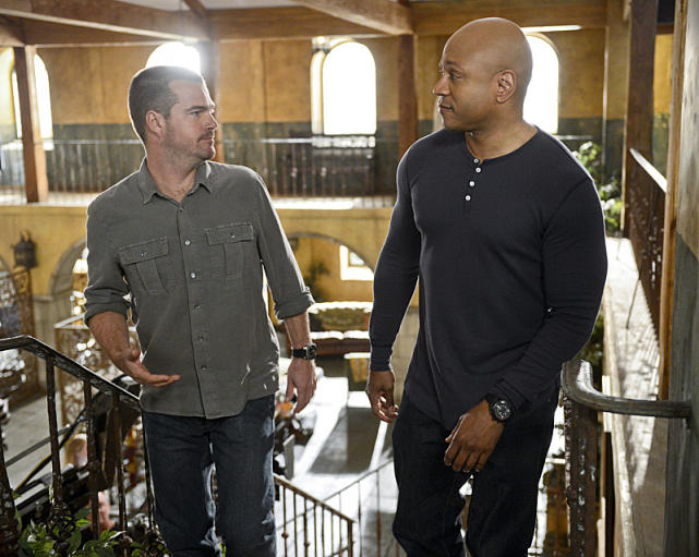 Callen and Hanna (NCIS: Los Angeles)
