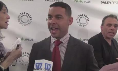 Jon Huertas PaleyFest Interview