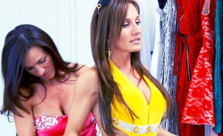 Help Getting Dressed - The Real Housewives of New Jersey Season 6 Episode 13