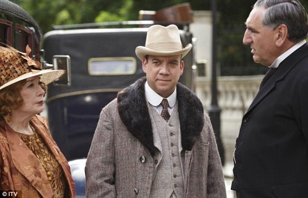 Paul Giamatti on Downton