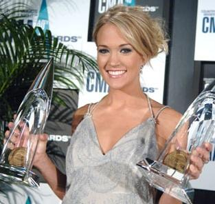 Carrie Underwood: Double Winner!