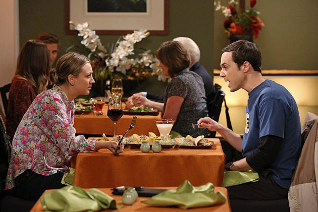 Sheldon and Penny Go Out