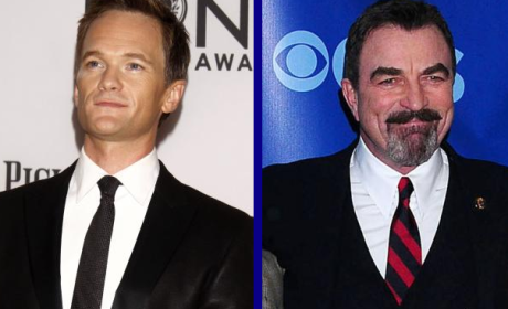 Tournament of TV Fanatic: Neil Patrick Harris vs. Tom Selleck!