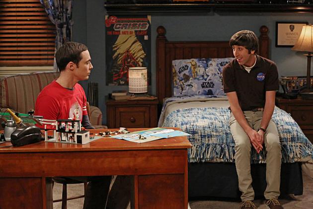Howard and Sheldon Hang Out