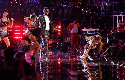 Usher on the Voice