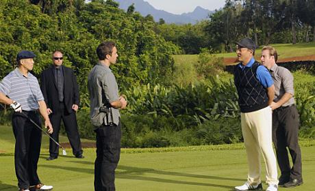 Golf Course Arrest