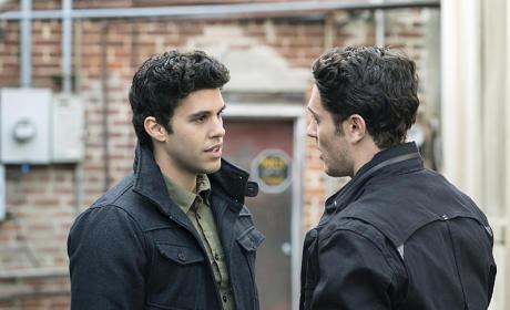 Josh and Aiden Pic - The Originals Season 2 Episode 14
