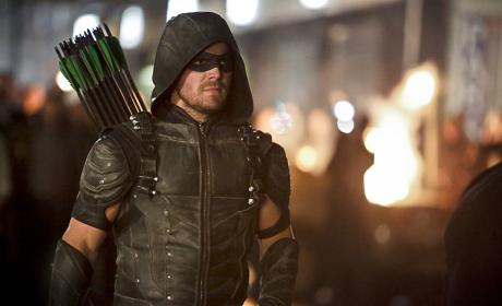 Ready to go - Arrow Season 4 Episode 23