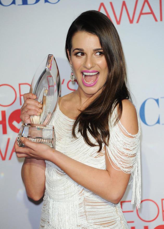Lea Michele Wins!