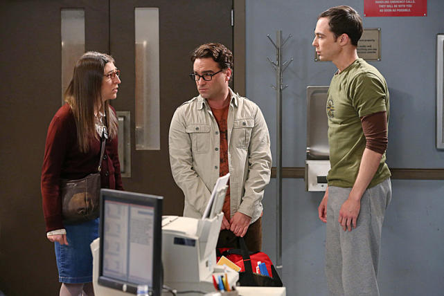 Leonard and Amy Get Sheldon