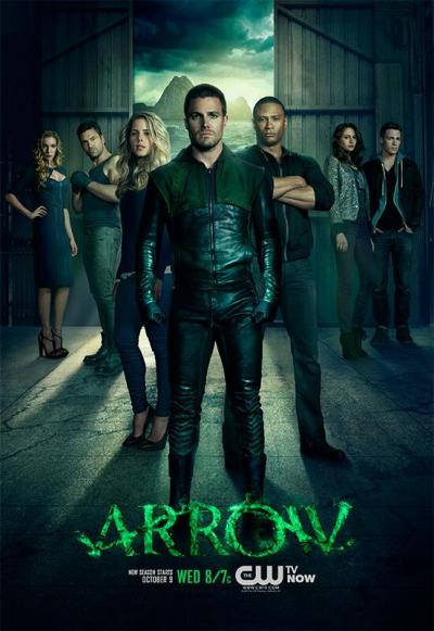 Arrow Season Two Poster