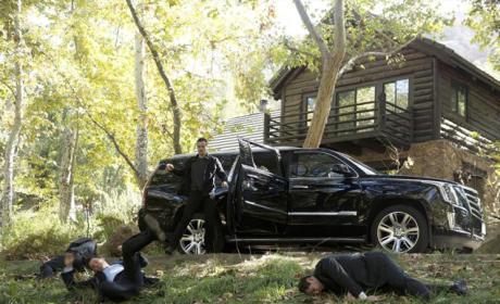 Ward Defeats the Security Team - Agents of S.H.I.E.L.D. Season 2 Episode 8