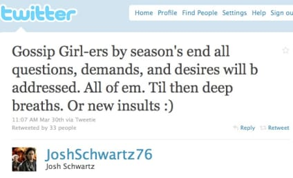 Gossip Girl Producer to Fans: Breathe!