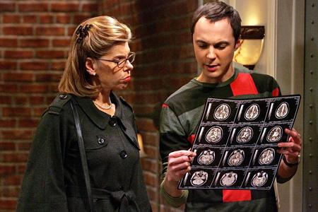 Sheldon and Mrs. Hofstadter