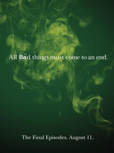 Breaking Bad Final Season Poster