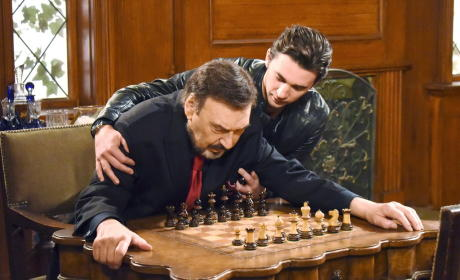 Stefano Has A Heart Attack - Days of Our Lives