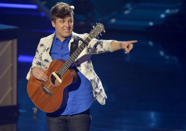 Alex Preston on Stage