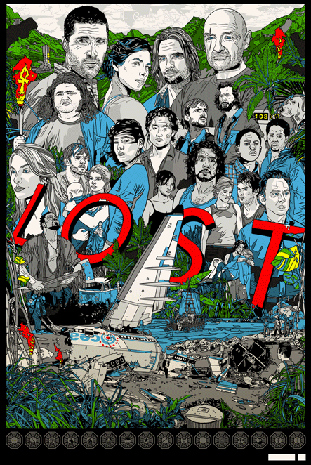 Revealing Lost Poster