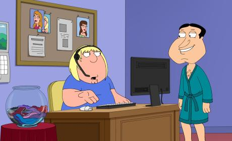 Quagmire's Assistant - Family Guy